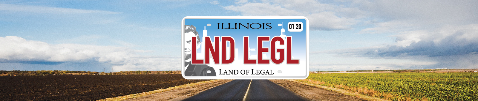 Land Of Legal Illinois Recreational Marijuana License Plate