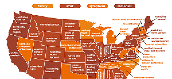 United States of Burnout Map | Verilife Dispensary