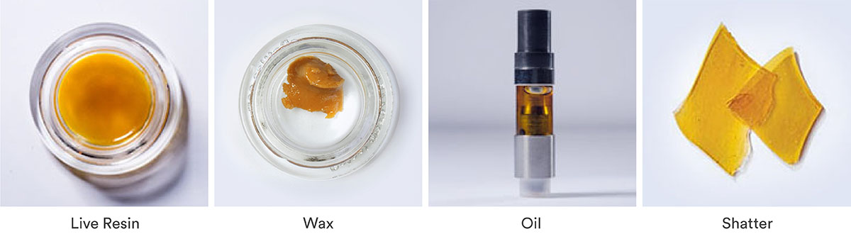 solvent-based cannabis concentrates products